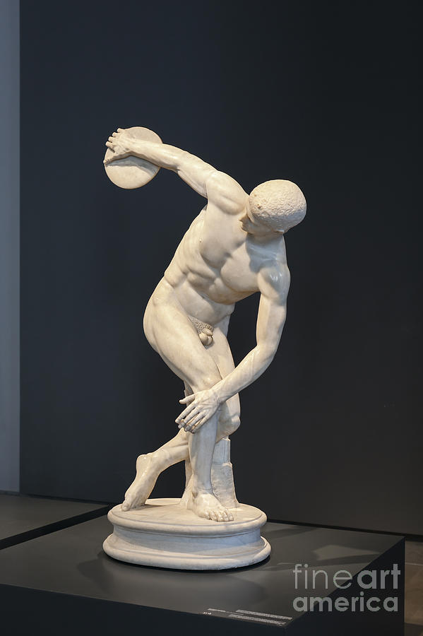 Discobolus Lancellotti is a photograph by Roberto Morgenthaler which ...