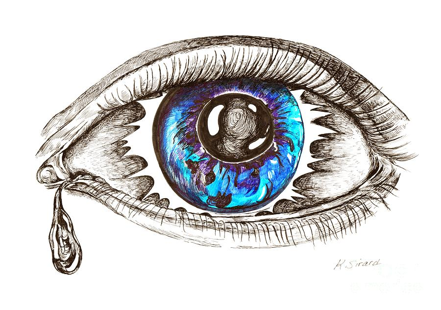 Eye Eclipse Drawing