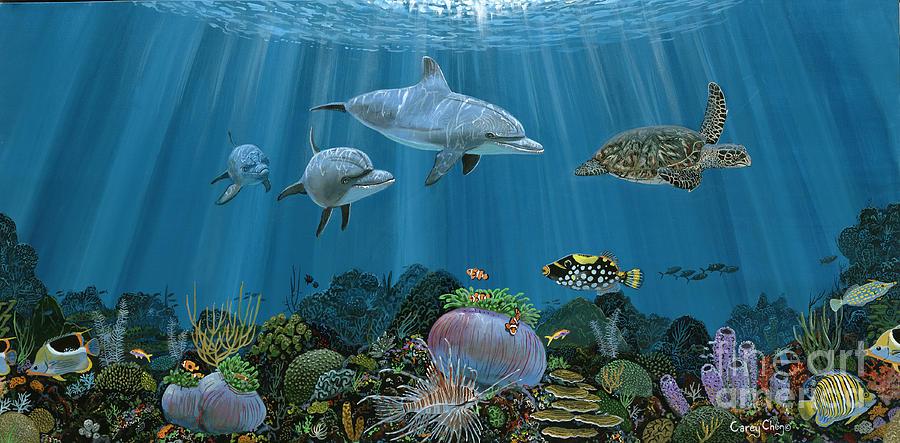 Fantasy Reef Re0020 Painting