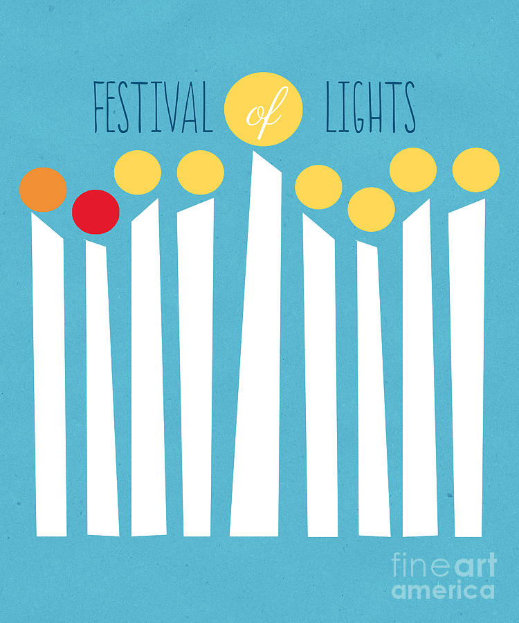 Festival Of Lights Mixed Media