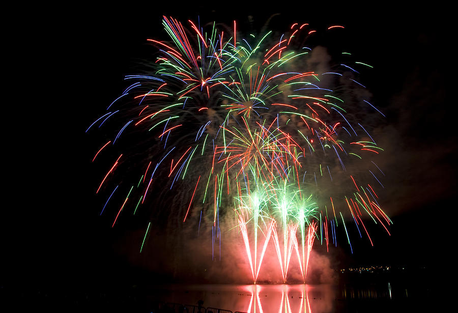 Fireworks Display Photograph