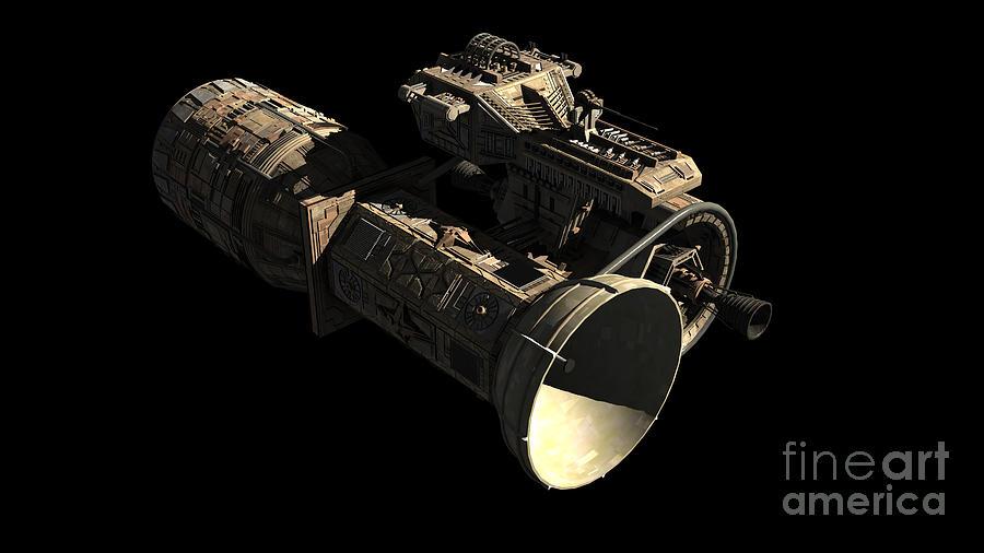 Frenchbulgarian Orbital Weapons Digital Art