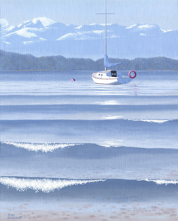 From The Beach Painting  - From The Beach Fine Art Print