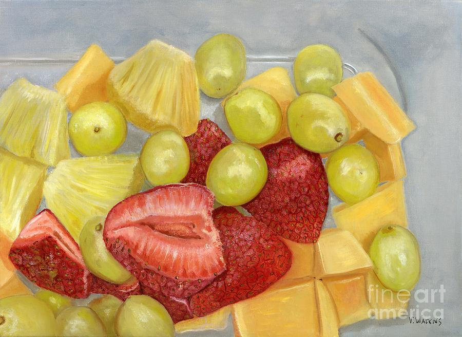 Fruit For Lunch Painting