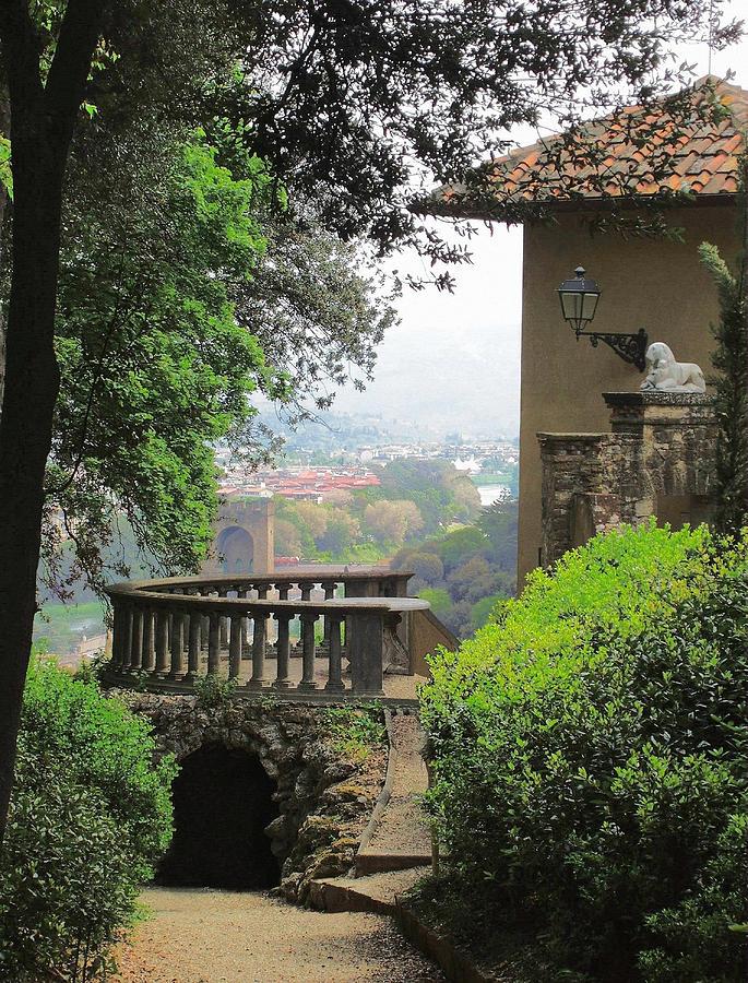 Garden View Photograph