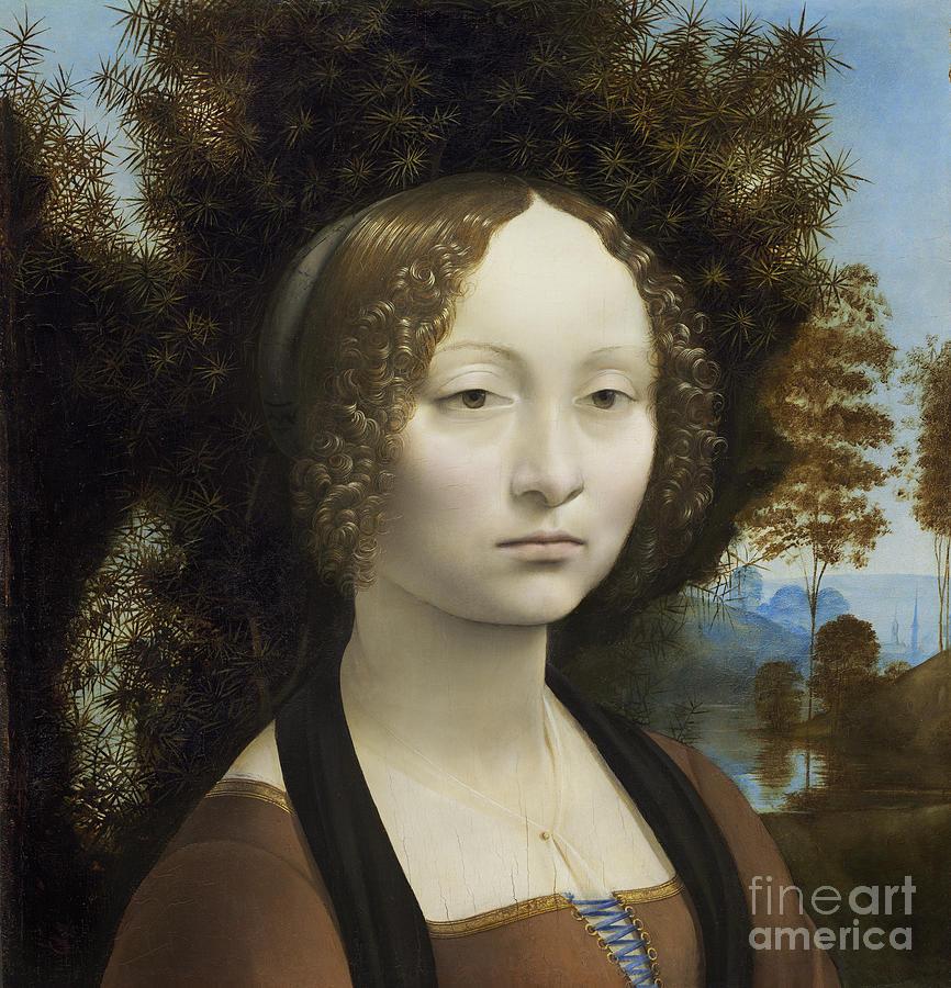 Ginevra De Benci Painting