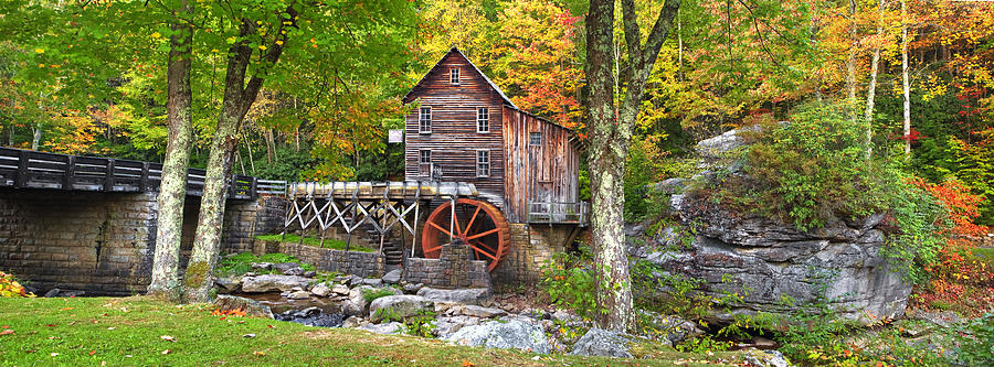Glade Creek Grist Mill Photograph