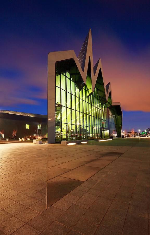 glasgow riverside museum photograph by grant glendinning. Black Bedroom Furniture Sets. Home Design Ideas