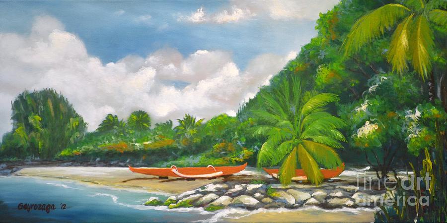 Haleiwa Painting