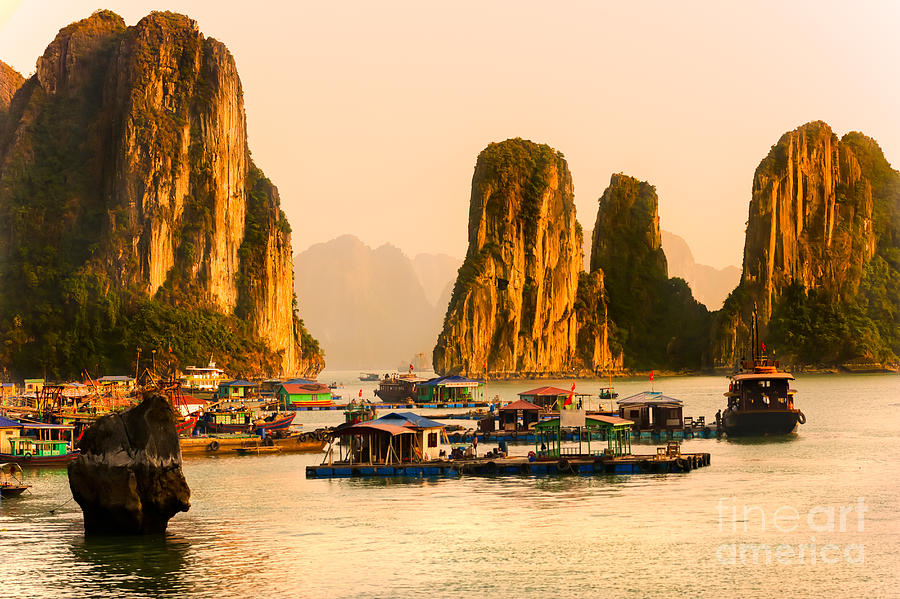 Halong Bay - Vietnam Photograph  - Halong Bay - Vietnam Fine Art Print