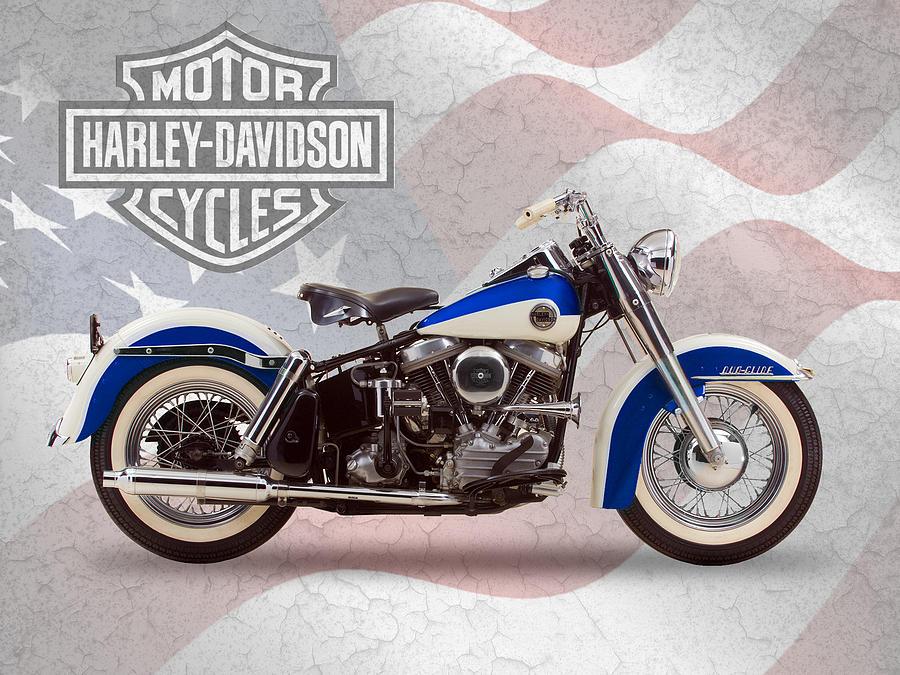 Harley-davidson Duo-glide Photograph