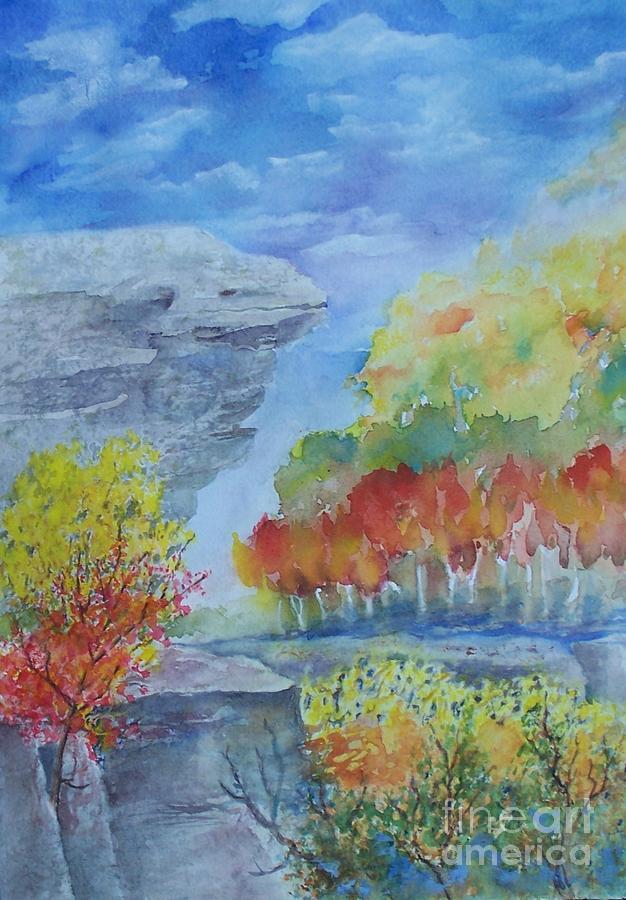 Hawksbill Crag  Painting