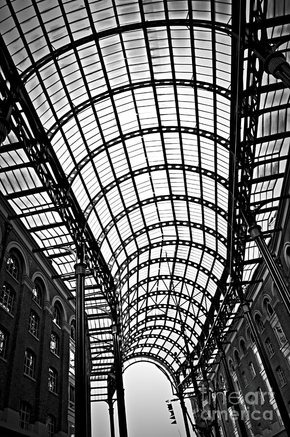 Hays Galleria Roof Photograph  - Hays Galleria Roof Fine Art Print