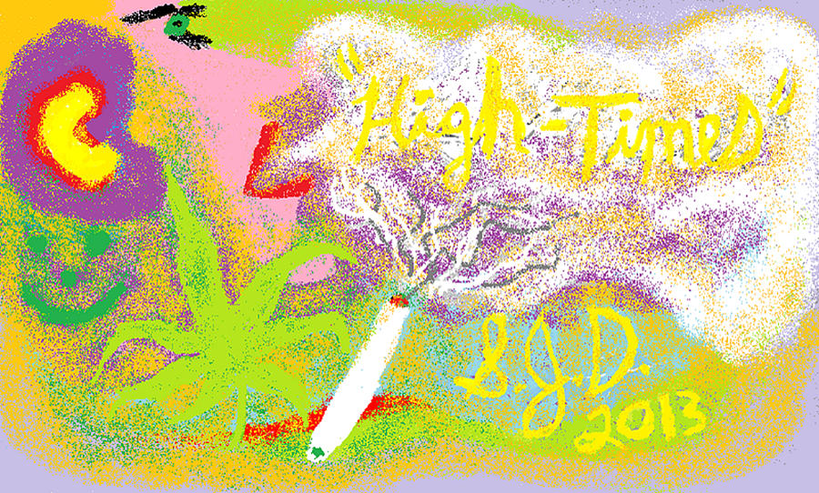 High Times Digital Art