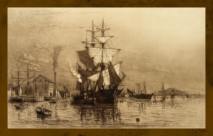 Historic Seaport Schooner Photograph