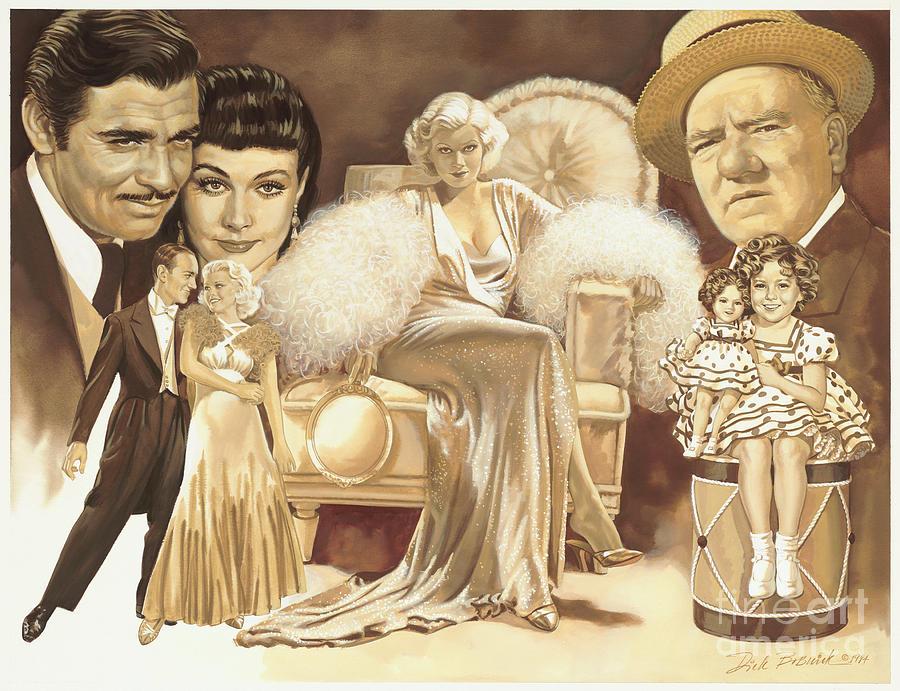 Hollywoods Golden Era Painting