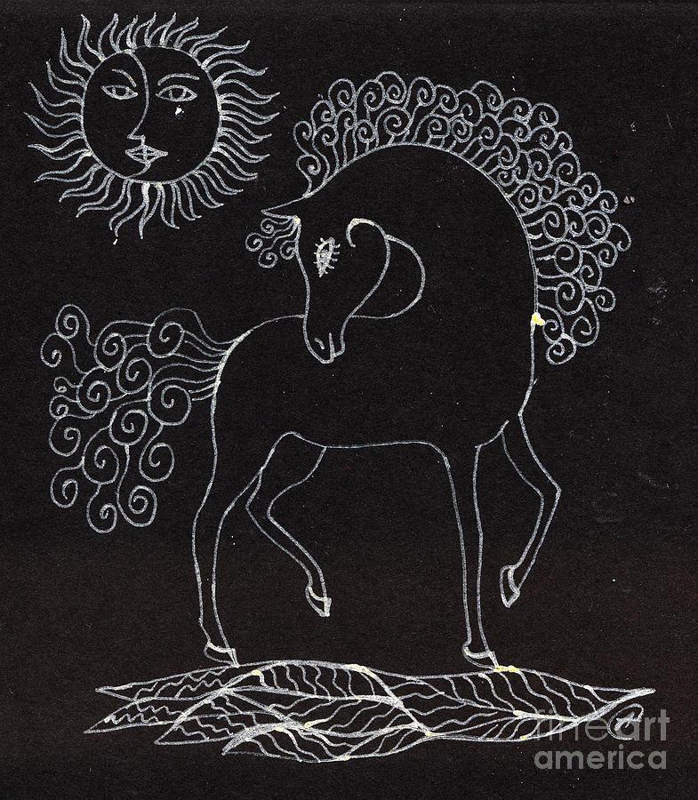 Horse Drawing Drawing