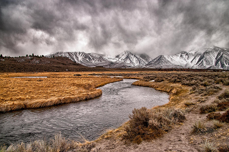 Hot Creek Photograph  - Hot Creek Fine Art Print