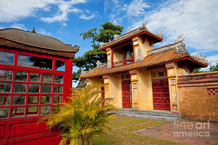 Imperial City Of Hue Vietnam Photograph  - Imperial City Of Hue Vietnam Fine Art Print