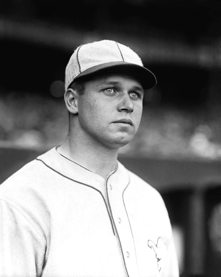 Baseball Photograph - James E. Jimmie Foxx by Retro Images Archive