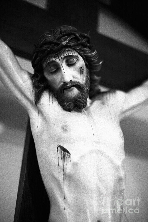 Jesus On The Cross Photograph  - Jesus On The Cross Fine Art Print