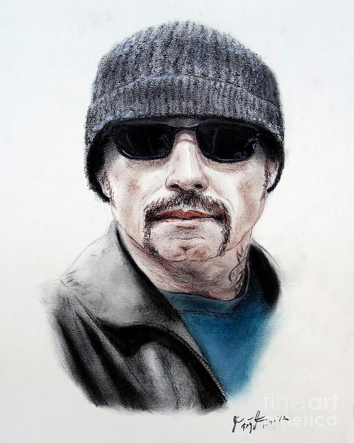 John Travolta In The Taking Of Pelham 123  Drawing