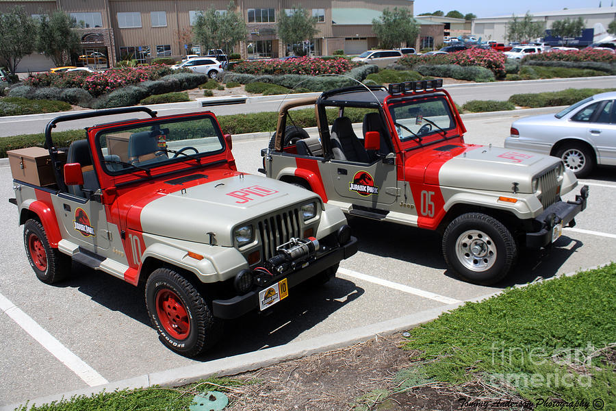 jeep photograph jurassic park jeeps by tommy anderson. Cars Review. Best American Auto & Cars Review