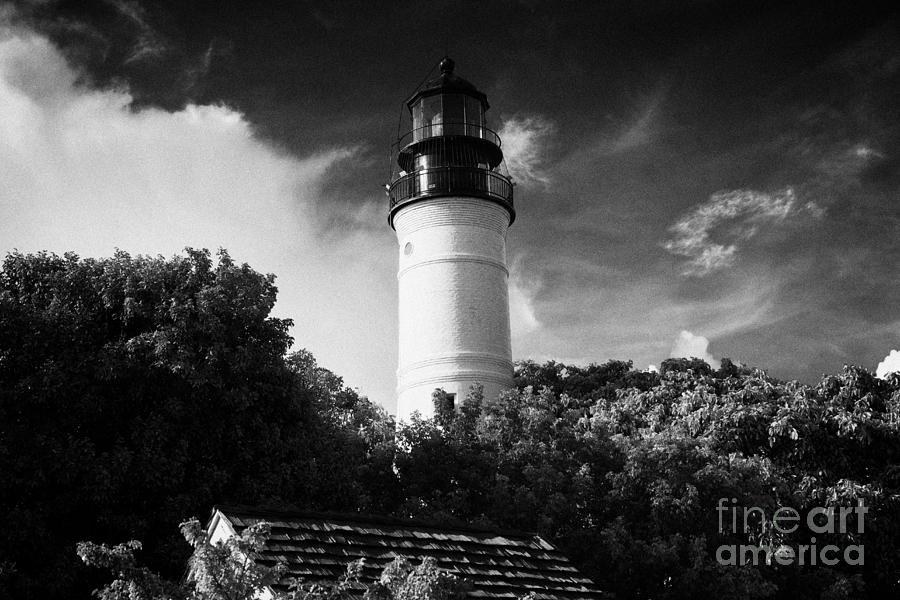 Key West Lighthouse Florida Usa Photograph
