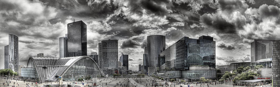 La Defense Paris Photograph