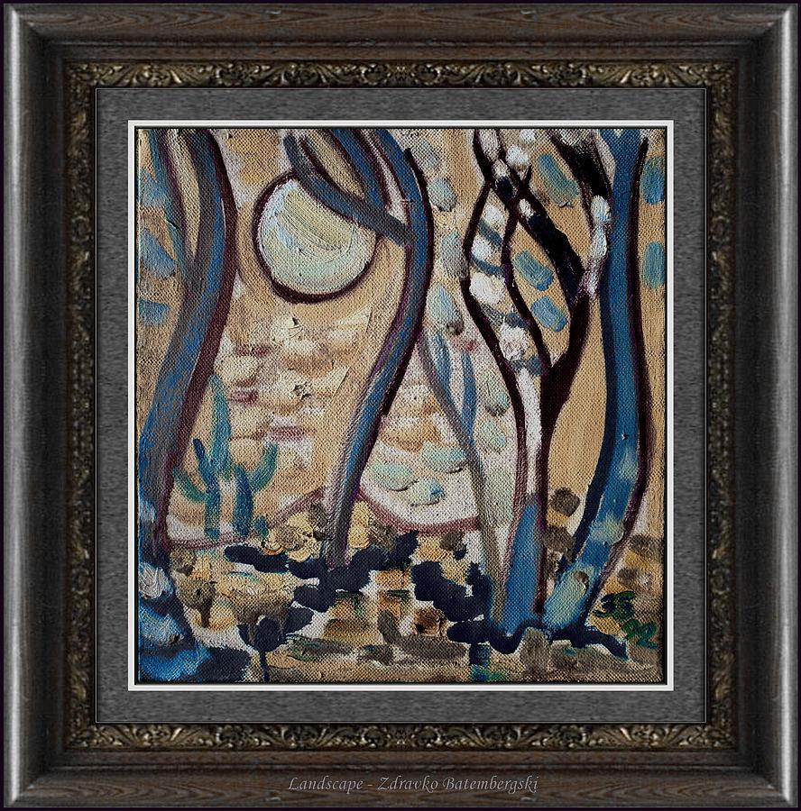 Impressionism Painting - Landscape by Zdravko Batembergski