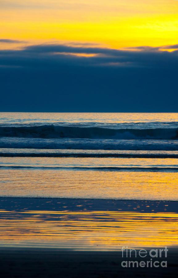 Sunset Photograph - Layers by Dana Kern
