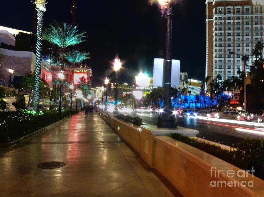 Leaving Las Vegas Photograph  - Leaving Las Vegas Fine Art Print