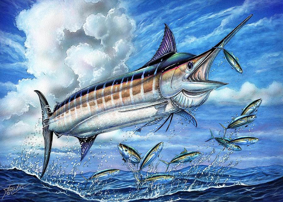 Marlin Queen Painting