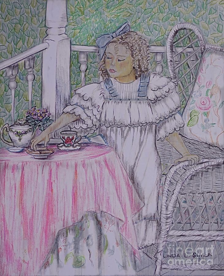 Mckennas Tea Party Drawing
