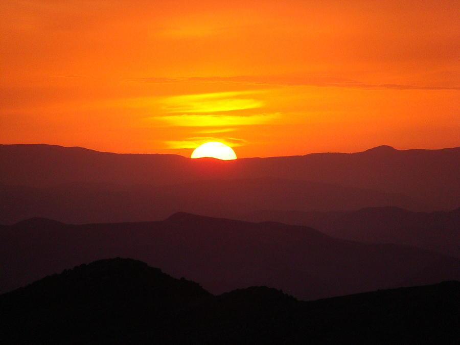 Sunset Photograph - Megress Sunset by Faouzi Taleb