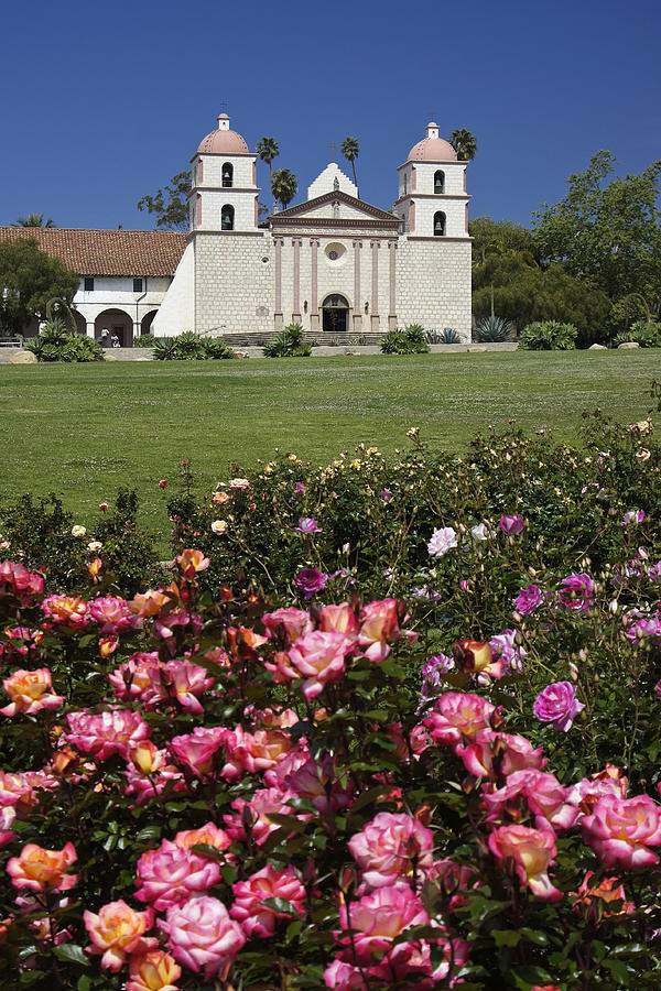 Mission Santa Barbara Photograph