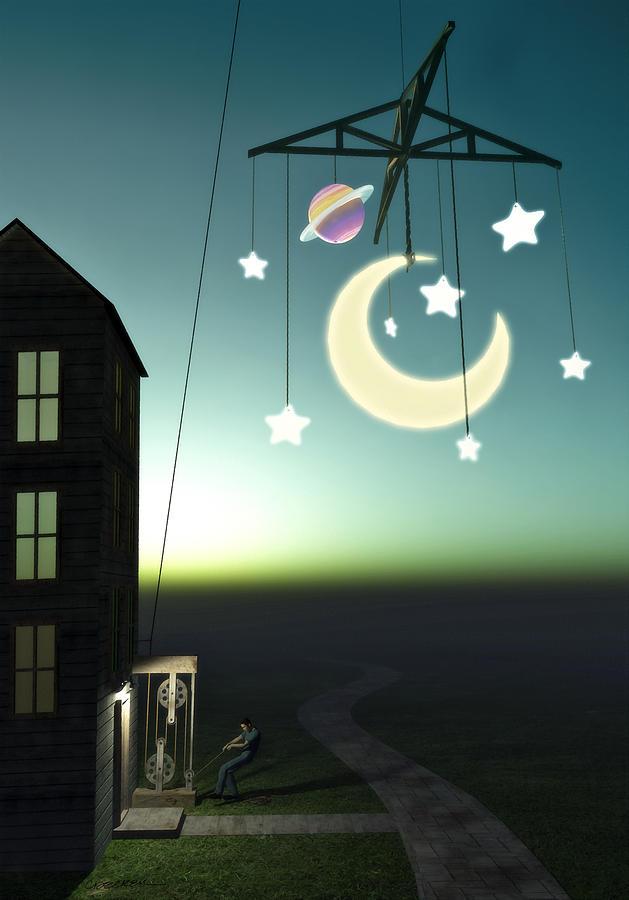 Moonrise Digital Art
