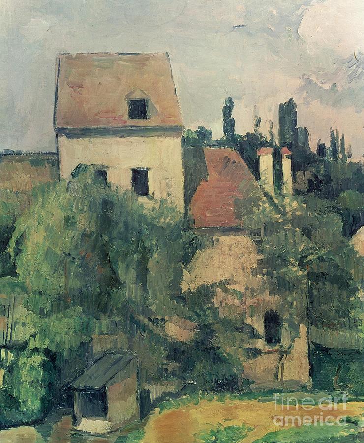 Moulin De La Couleuvre At Pontoise Painting
