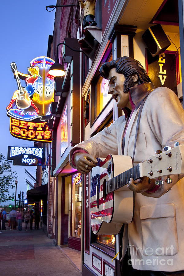 Music City Usa Photograph