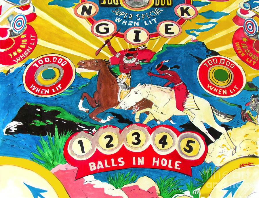 Native Pinball Painting