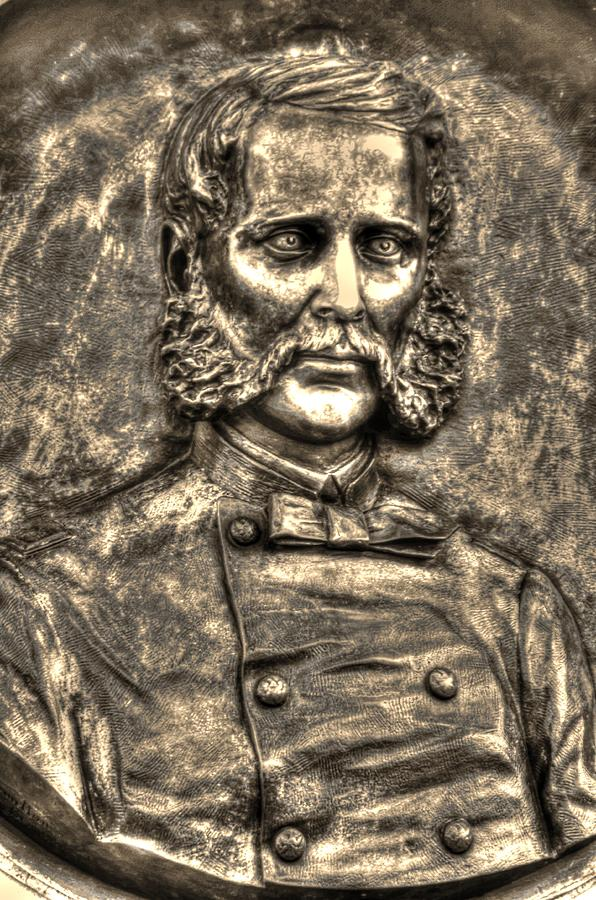 New York At Gettysburg - 140th Ny Volunteer Infantry Little Round Top Colonel Patrick O Rorke Photograph