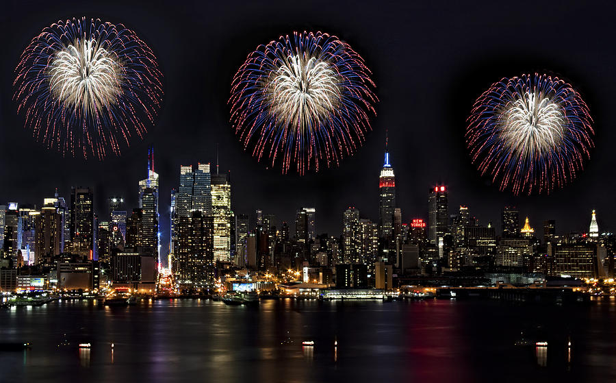 New York City Celebrates The 4th Photograph