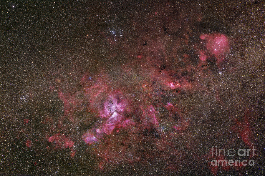 Ngc 3372, The Eta Carinae Nebula Photograph  - Ngc 3372, The Eta Carinae Nebula Fine Art Print