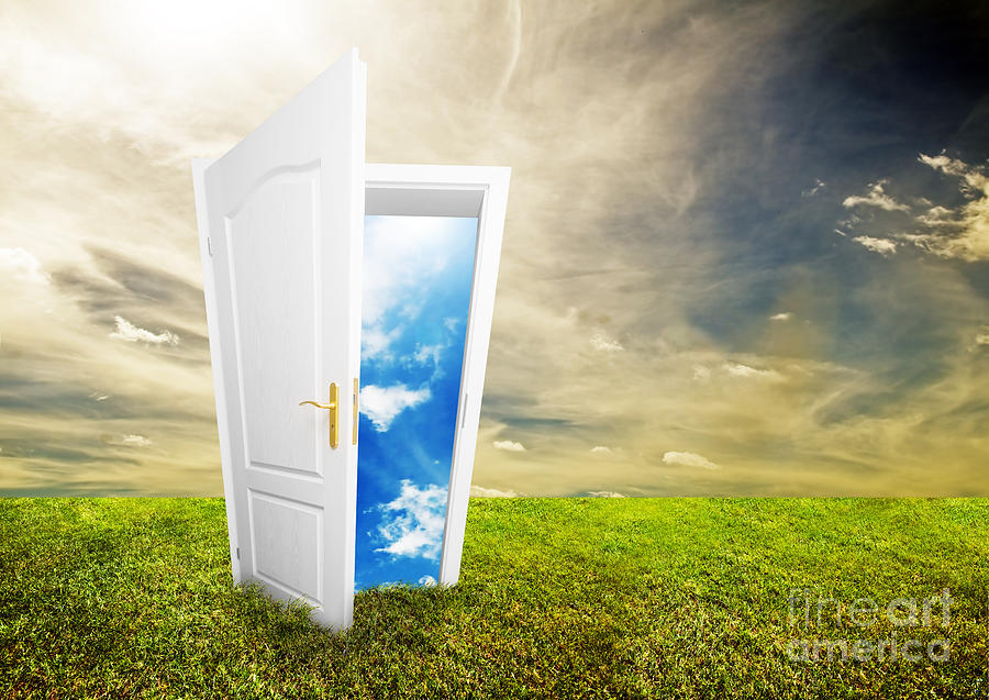 Open Door To New Life Photograph