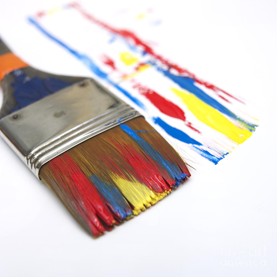 Paintbrush Photograph