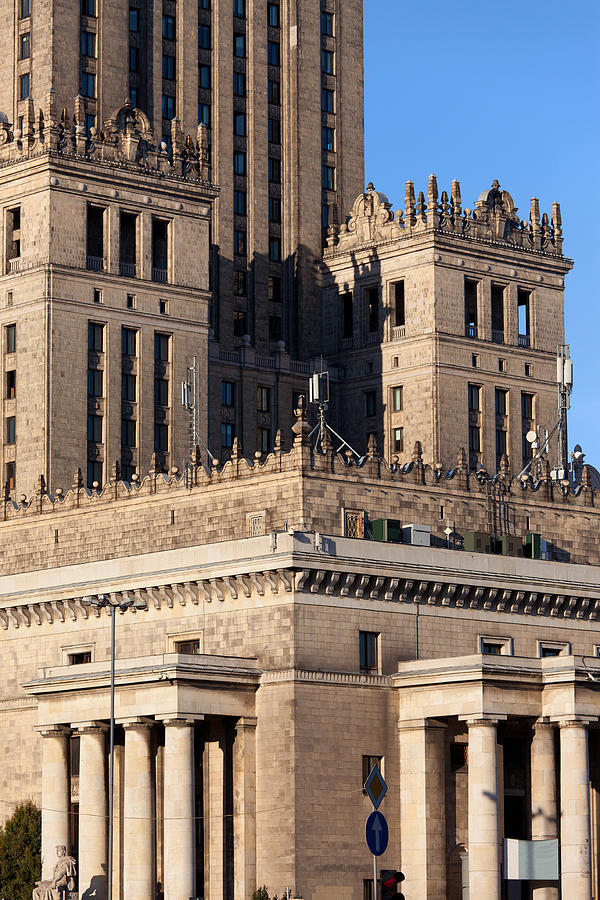 Palace Of Culture And Science In Warsaw Photograph  - Palace Of Culture And Science In Warsaw Fine Art Print