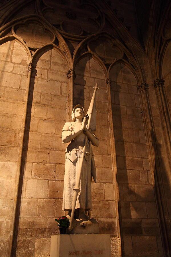 Paris France - Notre Dame De Paris - 01137 Photograph