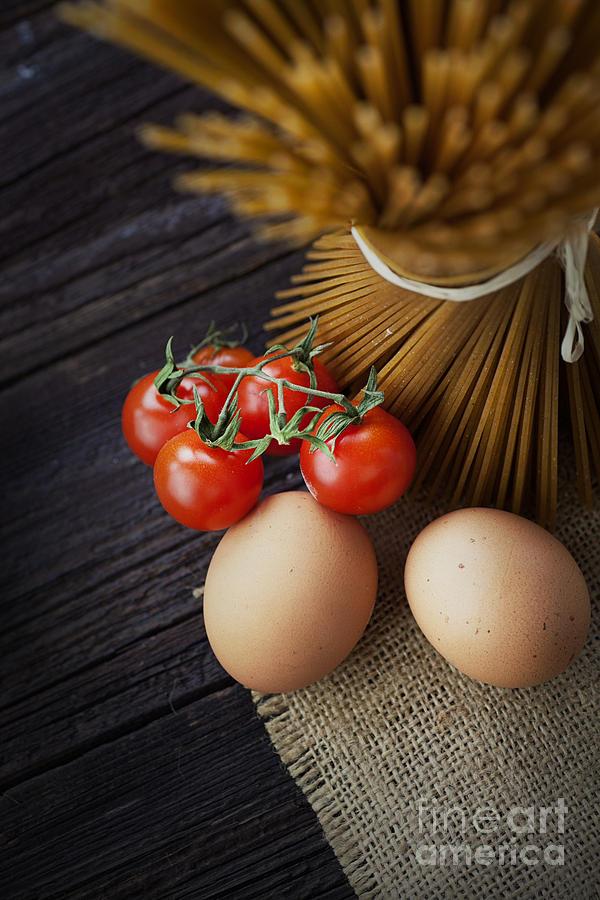 Pasta Ingredients Photograph