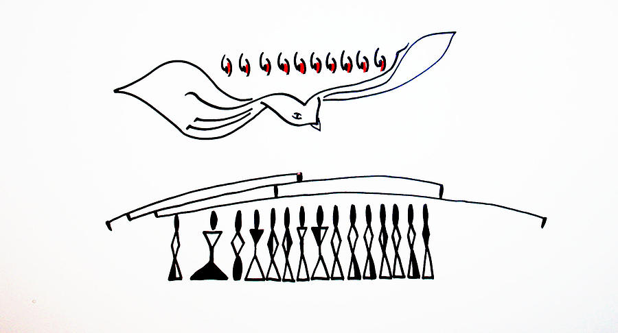 Pentecost Drawing