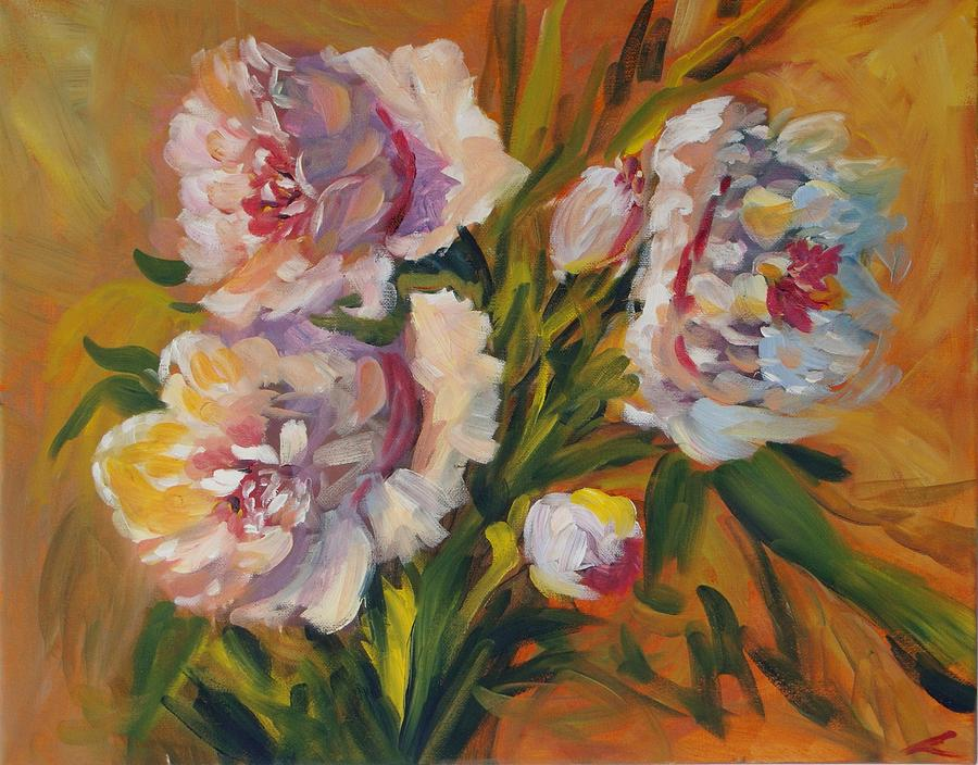 Peons Painting - Peons by Elena Sokolova